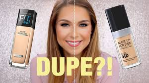 6 make up for ever hd foundation dupe