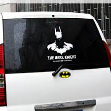 Sell 1pcs White Batman The Dark Knight Car Body Random Reflect Light Decals Stickers Motorcycle In 深圳市 广东省 China For Us 16 99