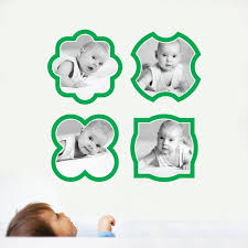 Fun Modern Picture Frame Wall Decals Paper Culture