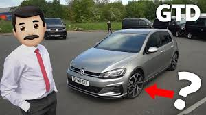 what are these golf gtd le