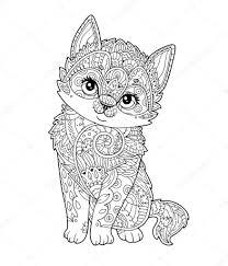 Kleurplaten Katten Kleurplaat