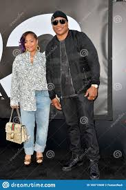 LL Cool J & Simone Smith editorial stock photo. Image of smith ...