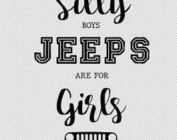Silly Boys Jeeps Are Etsy