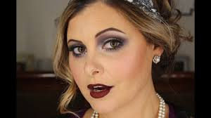 1920s flapper makeup tutorial you