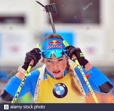 dorothea wierer (ita) in zona poligono during IBU World Cup ...