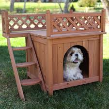 Merry Products Wood Pet Home Dogs Dogs Dogs Forever
