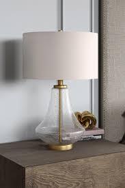lagos table lamp brushed brass