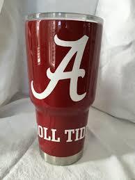Alabama Crimson Tide Yeti Rambler Alabama Roll Tide Crimson Tide Alabama Football Roll Tide