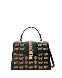 gucci waist bag with insects the art
