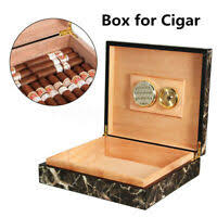 luxury chrome plated cigar holder case