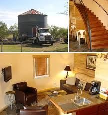 upcycling old grain silos houses
