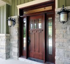 craftsman style fiberglass entry doors