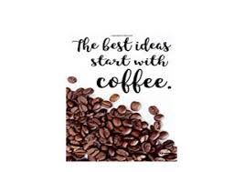 e p u b library the best ideas start coffee quote notebook for