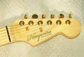 Custom Guitar Headstock Waterslide Decals Bedlam Creations
