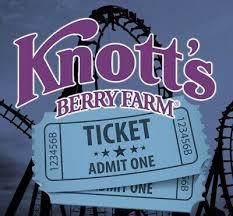 2 knott s berry farm theme park tickets