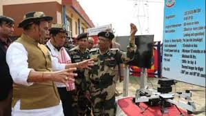 Rajnath Inaugurates Smart Fence In Assam To Curb Illegal Border Crossings India News Hindustan Times