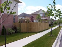 Corner Lot Wood Fence With Gate And Arbour Backyard Fences Privacy Fence Landscaping Wood Fence