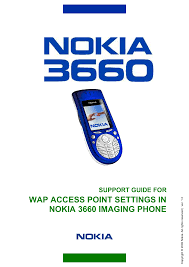 PDF manual for Nokia Cell Phone 3660