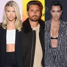 Sofia Richie Supports Scott Disick After Kourtney Kardashian Drama