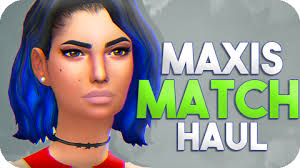 maxis match haul cc links