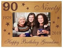 90th personalised birthday gift idea