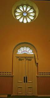16 rosette window above doors a