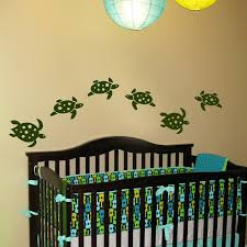 Underwater Sea Turtles Set Of Six Wall Decals