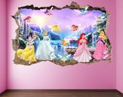 Princess Wall Decal Etsy