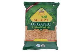 accept organic toor dal yellow split