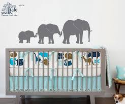 Elephant Line Wall Decal Family Of Elephant For Baby Room For Children Nursery Bedroom Decor Removable Vinyl Wall Art Sticker Wall S Tale Wall Decals Turkey