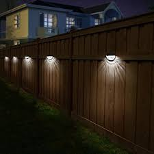 Othway Solar Fence Post Lights Wall Mount Decorative