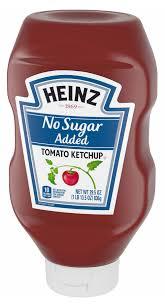 heinz no sugar added tomato ketchup at