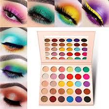 pink eyeshadow palette makeup matte