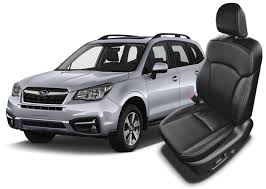 subaru forester leather seats seat