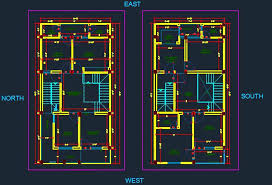 floor layout plan autocad dwg