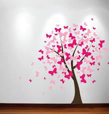 Innovative Stencils Blossom Butterfly Nursery Tree Wall Decal Wayfair