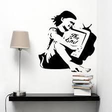 Banksy The End Graffiti Wall Decal Sticker Vinyl 55x80 Etsy