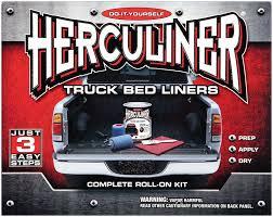 installing a herculiner bed liner