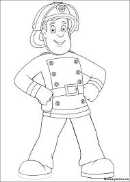 Brandweerman Sam Kleurplaat 61561 Kleurplaat