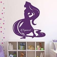 Disney Tangled Princess Rapunzel Vinyl Vinyl Decor Wall Decal Customvinyldecor Com