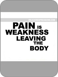 Gym Wall Decal Pain Is Weakness Leaving The Body Fitness Motivational Quote Vinyl Sticker Sport Workout Inspirational Art Decor Mural 106gy Wall Decor Wall Decor Home Living