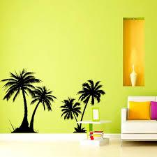Zooyoo Palm Trees Wall Sticker Vinyl Wall Decals Living Room Bedroom Home Decor Wallpaper Decoration Murals Decoration Murale Vinyl Wall Decalsdecor Wallpaper Aliexpress
