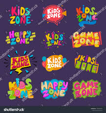 Game Room Vector Kids Playroom Banner Stock Vector Royalty Free 1199062366