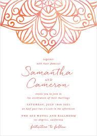 incredible hindu wedding invitation