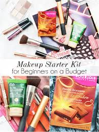 makeup starter kit for beginners on a