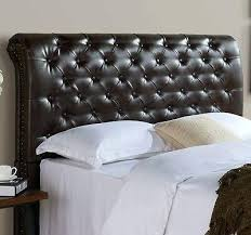 leather headboard queen promotel co