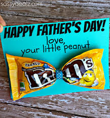 m m bow tie father s day card idea