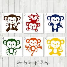 Monkey Vinyl Decal Monkey Car Decal Zoo Keeper Gift Animal Lover Gift Monkey Laptop Decal Monkey Tumbler De Monkey Stickers Monkey Decal Vinyl Decals