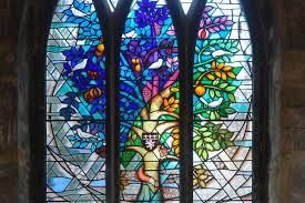 tree of life window is a breathtaking