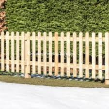 Round Top Picket Fencing Diy Kit Buy Online Uk Delivery